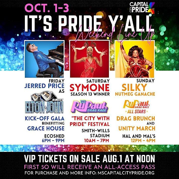 "It's Pride Ya'll 2021- ""The City With Pride"" image"