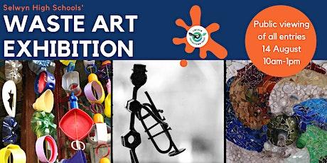 Selwyn High School  Public Waste Art Exhibition tickets