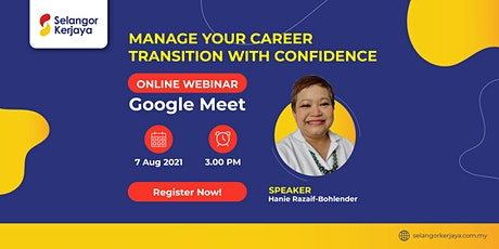 Manage Your Career Transition with Confidence tickets