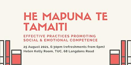 He Mapuna te tamaiti: Early childhood professional development tickets