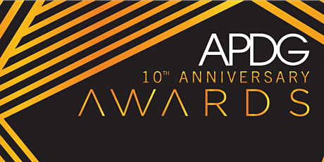10th Anniversary APDG Awards - 2021 tickets