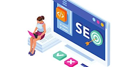 4 Weeks Virtual LIVE Online SEO (Search Engine Optimization)Training Course boletos