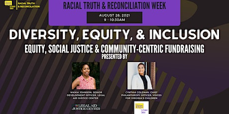 Equity, Social Justice & Community-Centric Fundraising (Virtual) tickets
