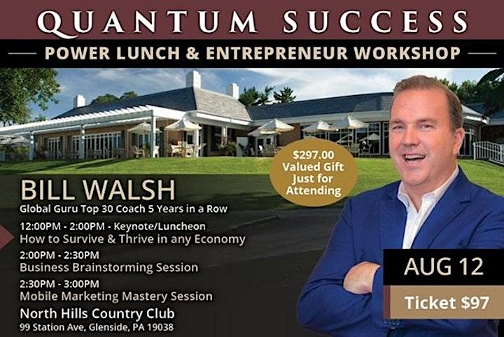 Quantum Success Power Lunch and Workshop Philadelphia image