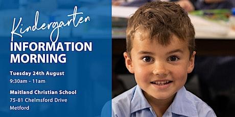 Kindergarten Information Morning tickets