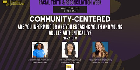 Are you informing or are you engaging youth and young adults authentically? tickets