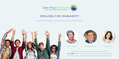 Love Peace Harmony Healing for Humanity ingressos