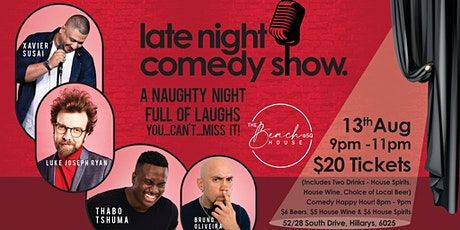 Late Night Comedy Show tickets