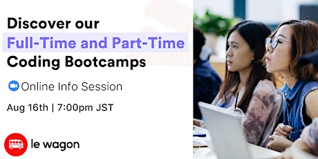 Online Open Campus - Discover our Web Development bootcamps! tickets