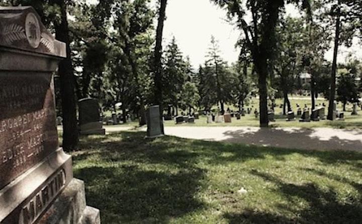 Edmonton Cemetery Tours - Mount Pleasant image