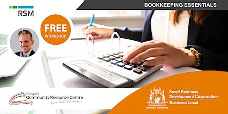 Bookkeeping Essentials (Dongara) tickets