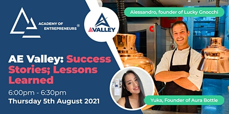 AE Valley: Success Stories; Lessons Learned tickets