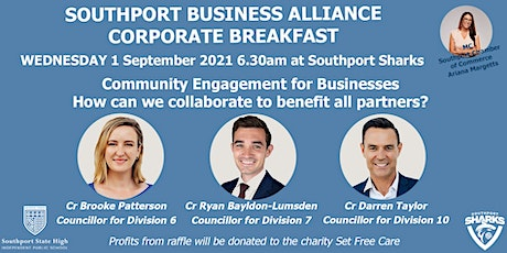 Southport Business Alliance Corporate  Breakfast tickets
