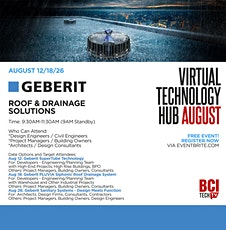 GEBERIT ROOF AND DRAINAGE SOLUTIONS tickets