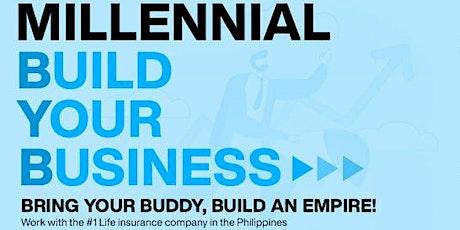 Millennial Build Your Business Tickets