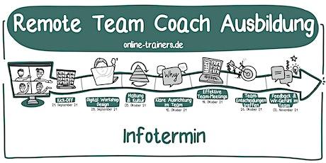 Info-Termin: Remote Team Coach Ausbildung Tickets