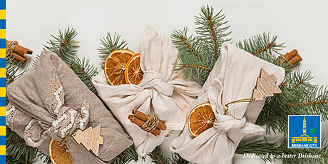 Low Waste Christmas - Furoshiki Gift Wrapping and Origami Decoratio tickets
