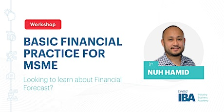 Financial Practice for MSME by Nuh Hamid tickets