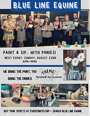 Paint & Sip- with Ponies! tickets