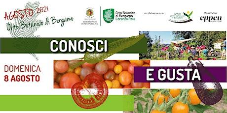 CONOSCI E GUSTA - ASTA BIODIVERSA biglietti