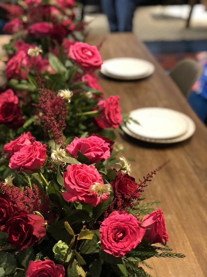 Mid-Autumn Special Flower Table Runner Workshop in Western & Japanese Style image