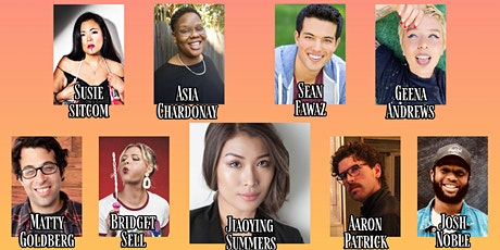 COMEDY SHOW THC JIAOYING AND FRIENDS 8/7 8PM tickets