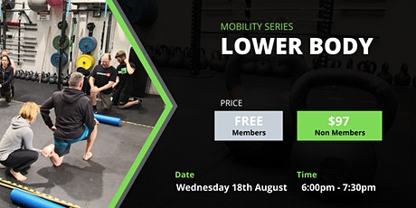 Lower Body Mobility Workshop tickets