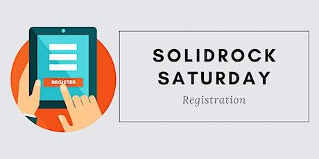 Solidrock Saturday tickets