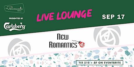 Peninsula Live Lounge presents the New Romantics Sep 17 tickets