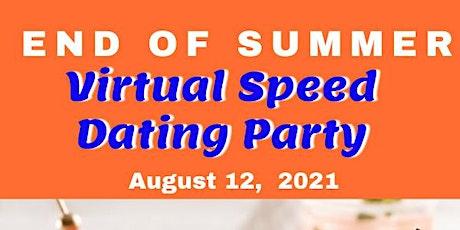 June DMV Virtual Speed Dating Age Range 40-55 years old tickets