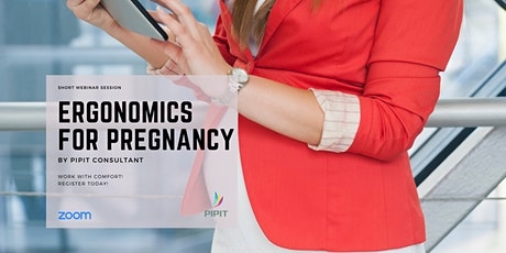 Webinar - Ergonomics for Pregnancy tickets