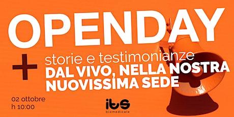 ITS Biomedicale - Open Day (in presenza!) biglietti