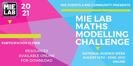 Maths Modelling Challenge - National Science Week 2021 tickets