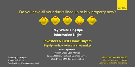 Information Night - Investors and First Home Buyers tickets