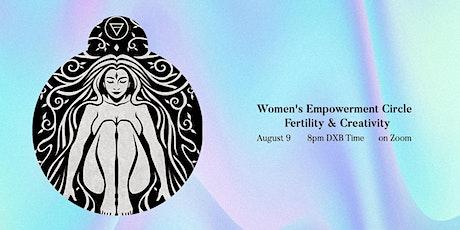 NEW MOON WOMEN'S EMPOWERMENT CIRCLE: Fertility & Creativity tickets