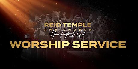 Reid Temple AME Church Sunday Worship Service tickets