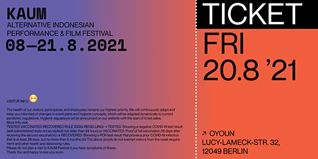 KAUM: Screening & Performance tickets