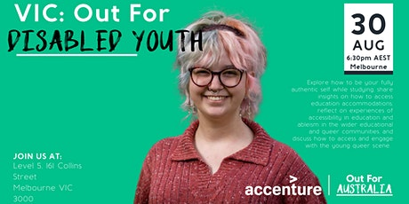 Out For Disabled Youth: Accessibility,  Community and Pride tickets