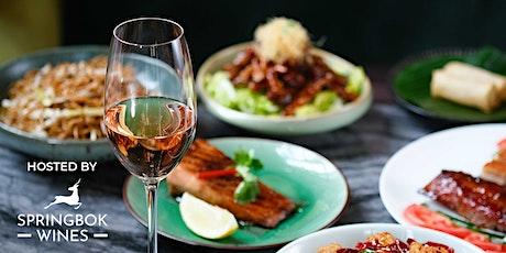 Wine Dinner with Springbok Wines & Madame Fù tickets