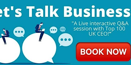 Let's TALK Business! tickets