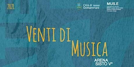 Venti di Musica-  Viaggio tra Rock e Poesia - Tracce d'autore in concerto biglietti
