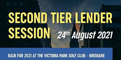 Second Tier  Lender Session - Morning session tickets