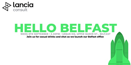 LanciaConsult Belfast Office Launch tickets