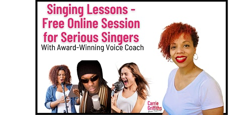 Singing Lessons - Free Taster Session tickets