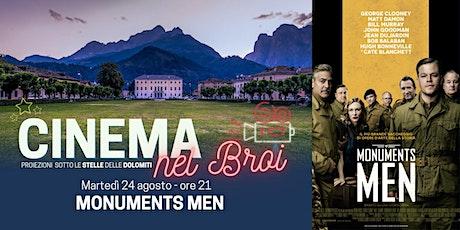 """""""Monuments Men"""" - Cinema nel Broi ad Agordo biglietti"""