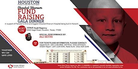 Shaukat Khanum Fundraising Gala Dinner in Houston, USA tickets