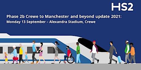 Phase 2b Crewe to Manchester Route Wide Update - Alexandra Stadium, Crewe tickets