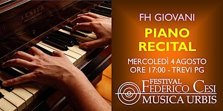 Recital Pianistico tickets
