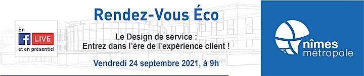Image pour RDV Eco Le design de service : Entrez dans l'ère de l'expérience client !