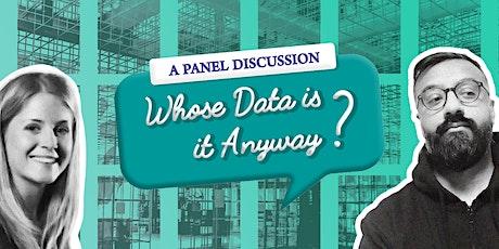 'Who's Data is it Anyway?' Team Fluxxt @ Leeds Digital Festival 2021 tickets